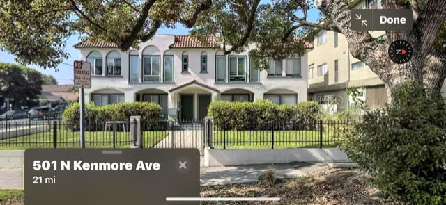 501 N Kenmore Ave. Los Angeles CA 90004